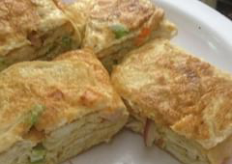 Turn to Food to Improve Your Mood Roll omlette