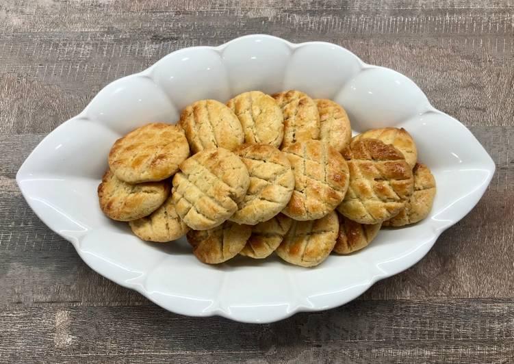 Mini galettes aux cacahuètes