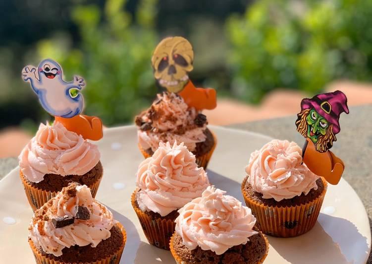 Ricetta Cupcake soffici e veloci halloween