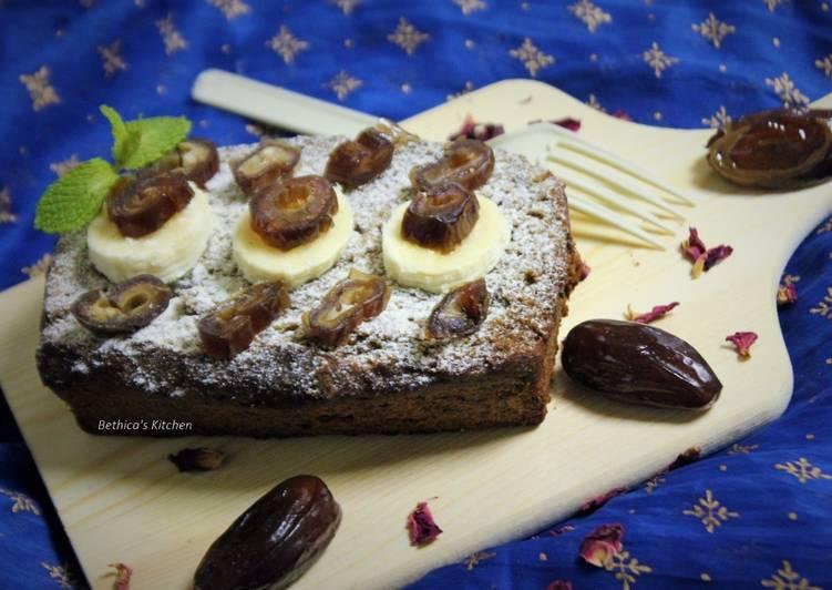 Banana Dates Cake
