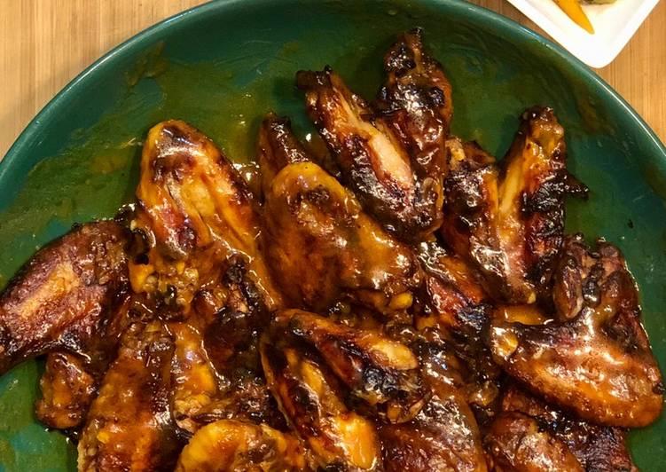 Recipe of Homemade Buffalo chicken wings
