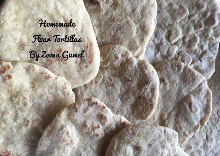 Easiest Way to Make Ultimate Homemade Flour Tortillas