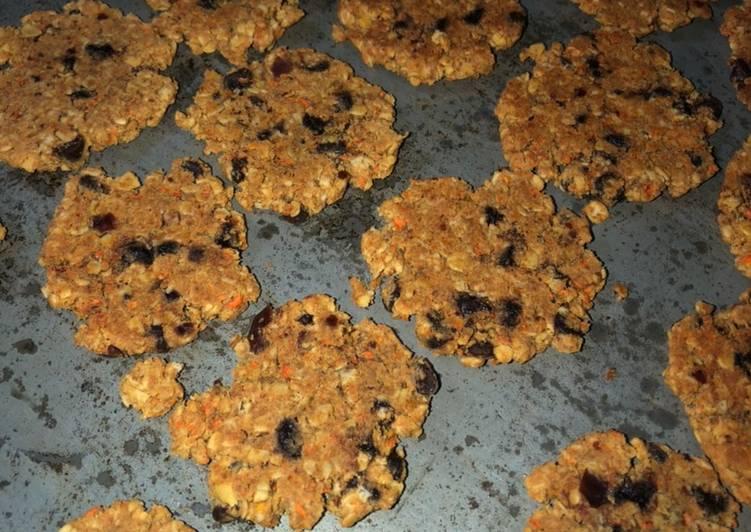 Soy pulp cookies
