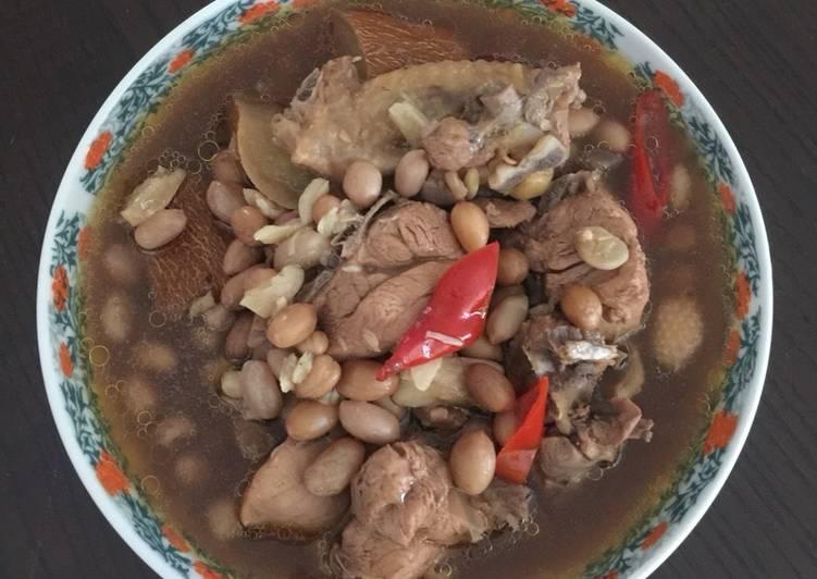 Chicken Nut soup