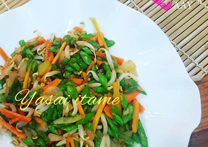 Resep Yasai Itame Tumis Sayuran Oleh Airin Widjaya Cookpad