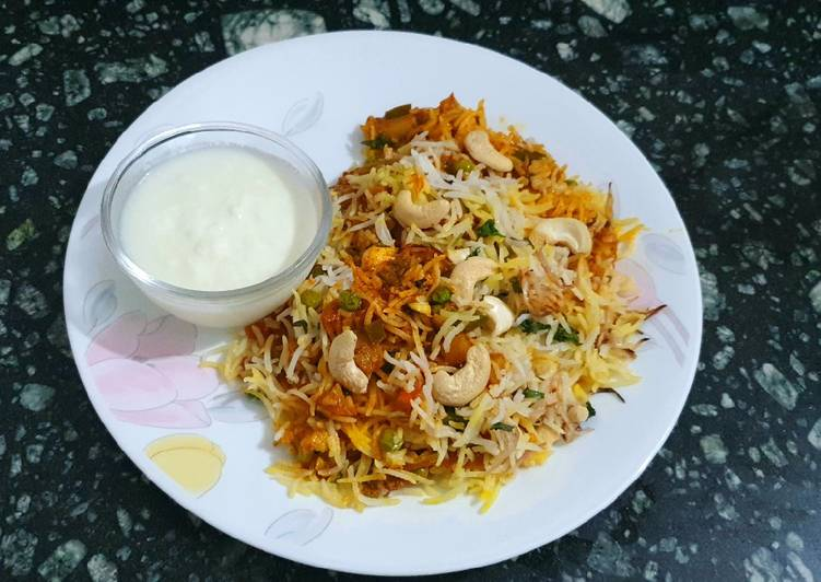 10+ Dinner Easy Homemade Veg Biryani
