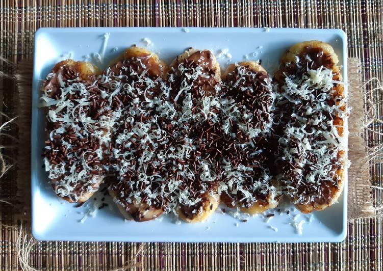 Pisang Margarin coklat keju