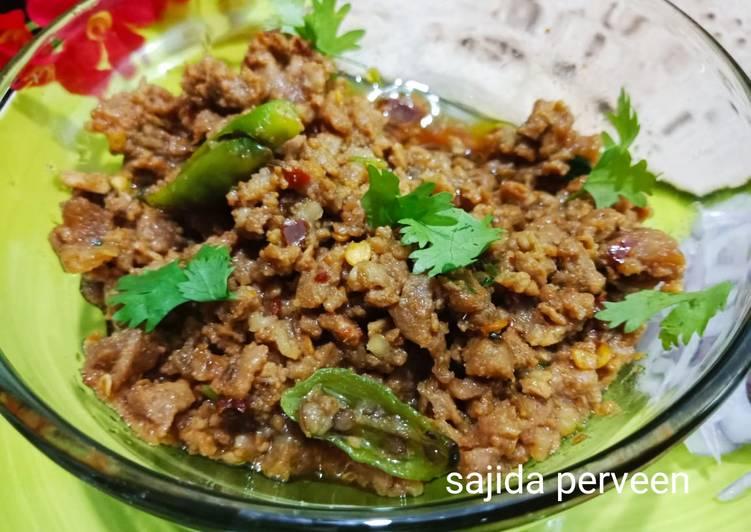 25 Minute Recipe of Award Winning Dum ke Qeema (With out onion,tomato qeema)