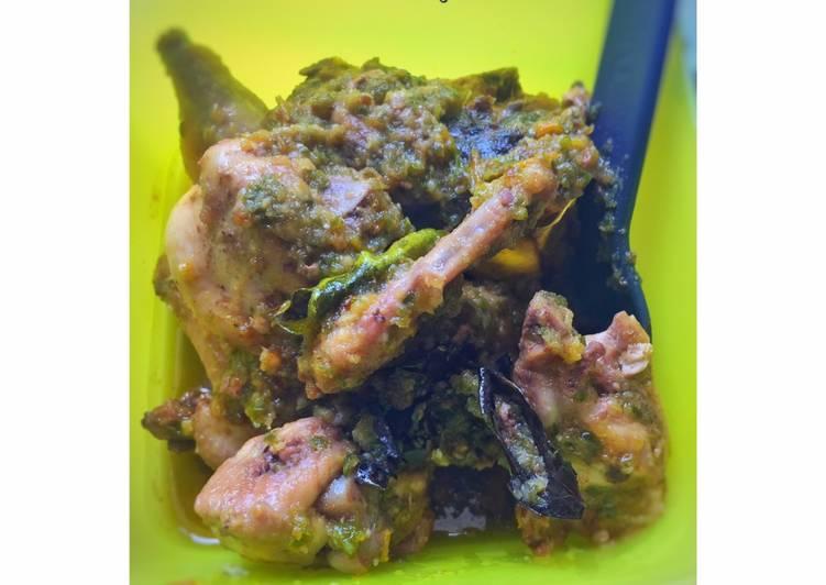 Ayam Lado Mudo (Cabai Hijau)