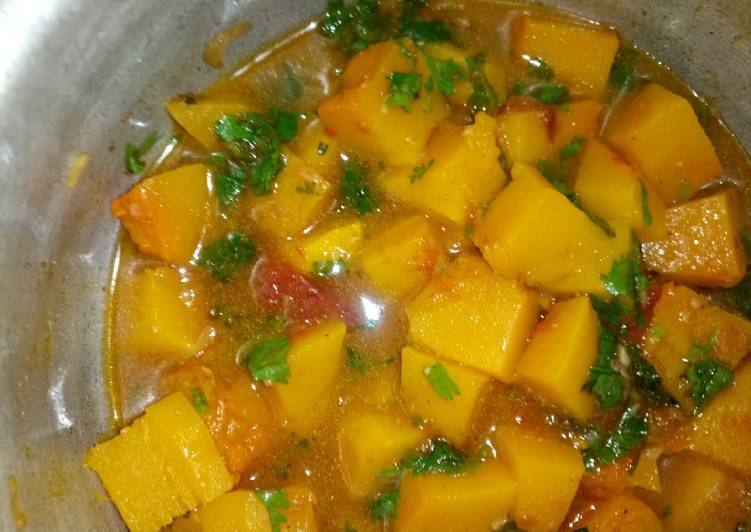 Recipe of Favorite Pumpkin curry stew,,vegetable contest