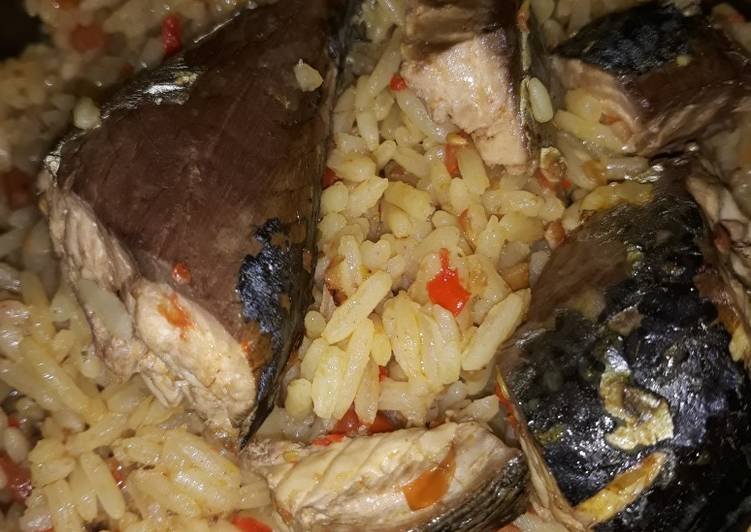 How to Make Homemade Coconut jollof rice