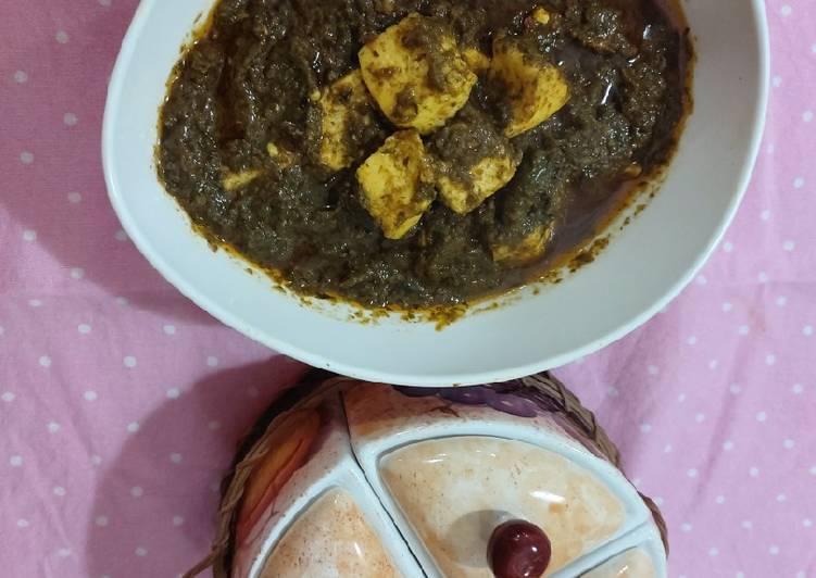 Monday Fresh Palak paneer healthy food