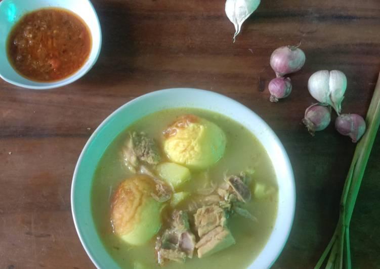 Kare Ayam Telur Sayuran - cookandrecipe.com