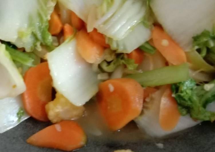 Capcay goreng vegetarian