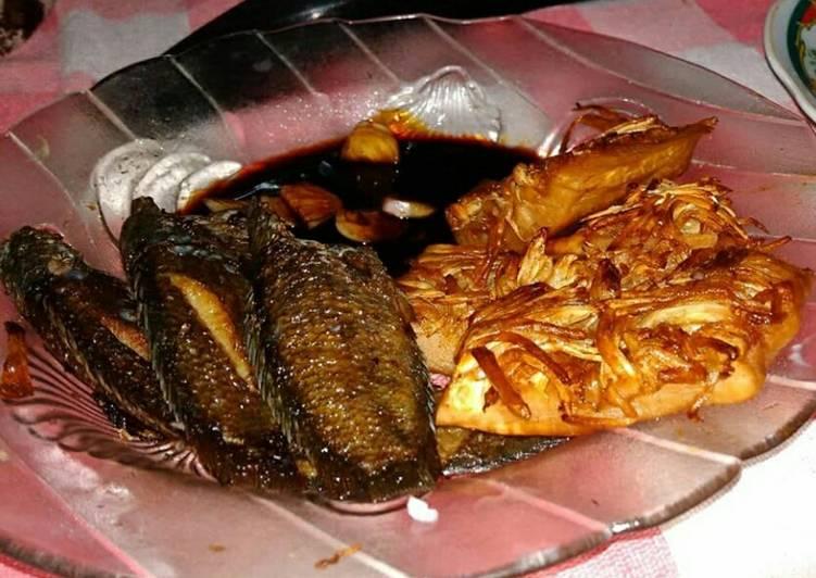 Papuyu dan Mandai goreng khas banjarmasin #BikinRamadhanBerkesan