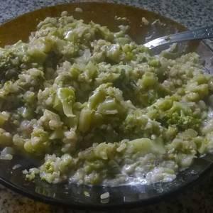 Risotto de brócoli y arroz yamaní ♥