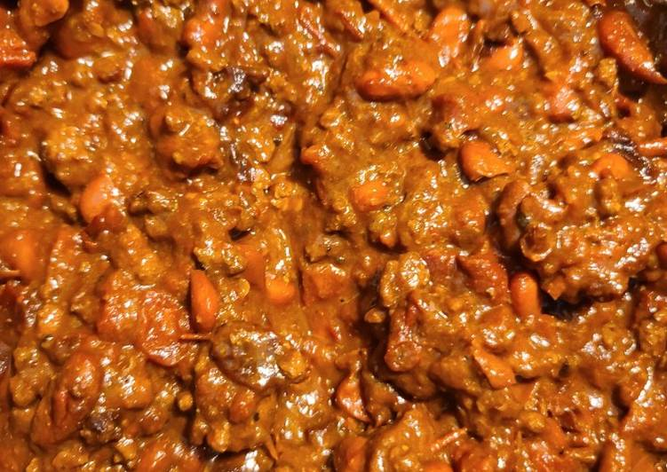 Recipe: Yummy Real Chile Chili