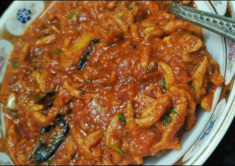 Recipe of Perfect Sode (dried prawns)