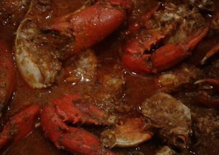 Whosayna's Garam Masala Crabs