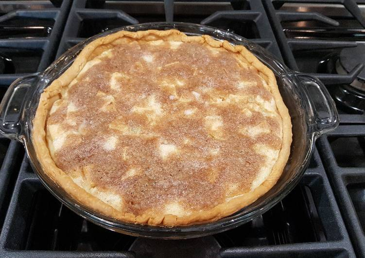 How to Make Perfect Sour Cream Apple Pie