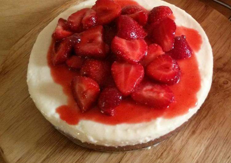 Recipe of Ultimate Strawberry Cheesecake