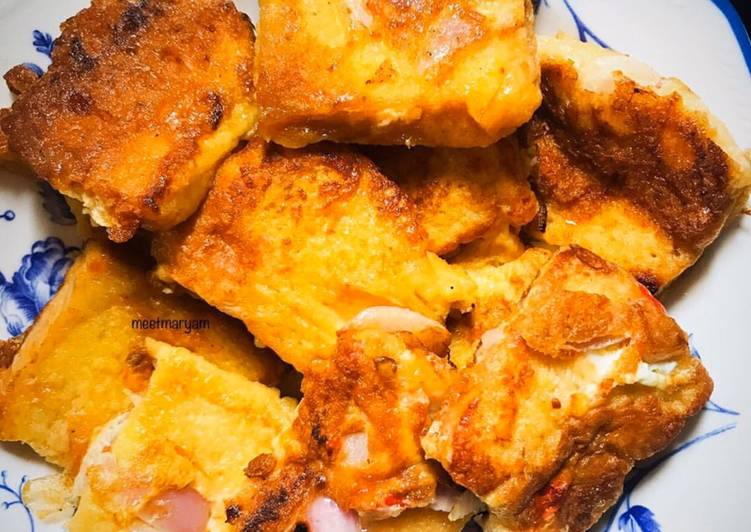 Cubed French Toast