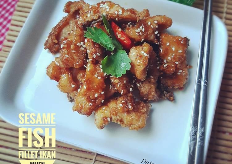 Sesame Fish || Fillet Ikan Wijen