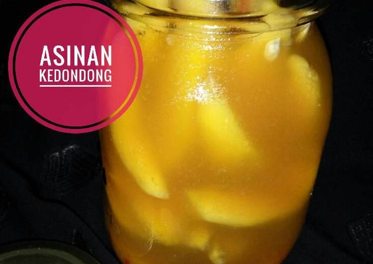 Asinan Buah Kedondong