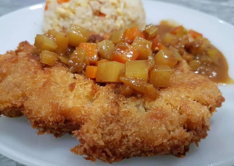 Recipe of Homemade Student Meal: Chicken Katsu (Japanese Chicken Chop)