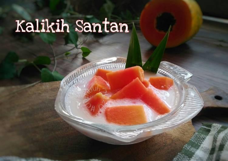 Kalikih Santan Khas Minang