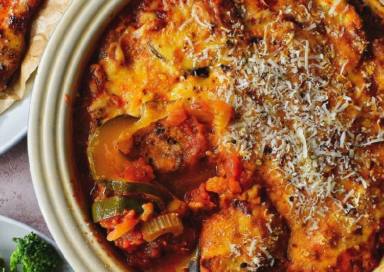 Steps to Make Speedy Courgette & Tomato Gratin