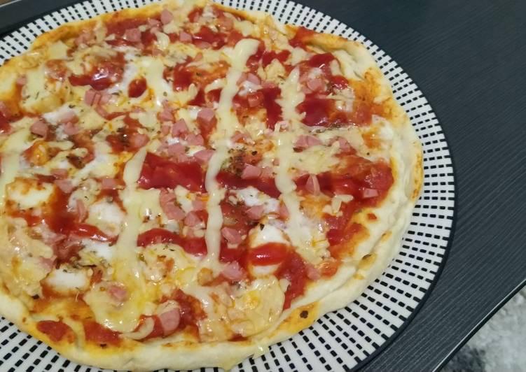 Pizza Ulen Tangan Anti Gagal