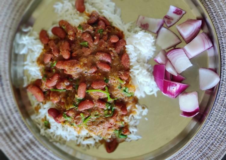 Rajma chawal - traditional method