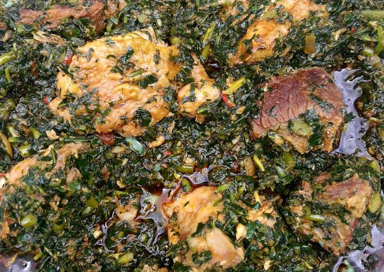 Edikang ikong 'aka' vegetable soup, Choosing Fast Food That's Good For You