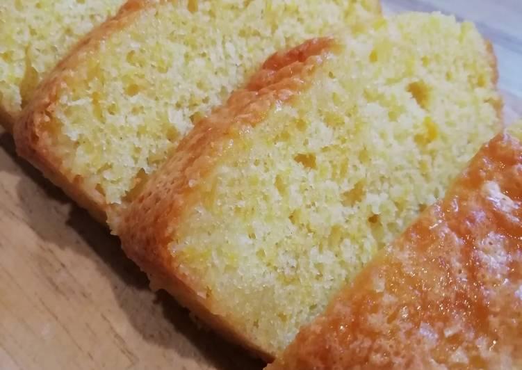 Comment faire Cuire Délicieux Cake moelleux à l'orange 🍊