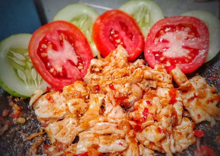 Ayam Geprek Low Calorie