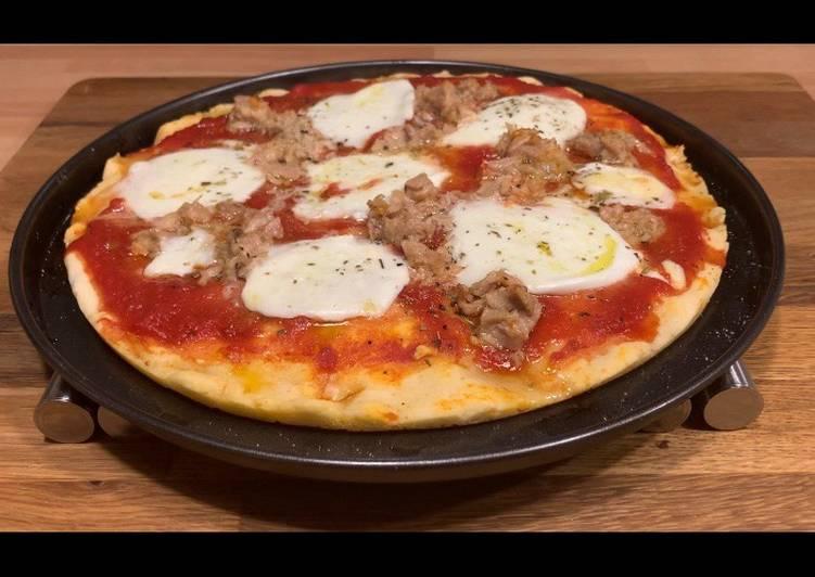 Ricetta Pizza con Mix di Farine Gluten Free
