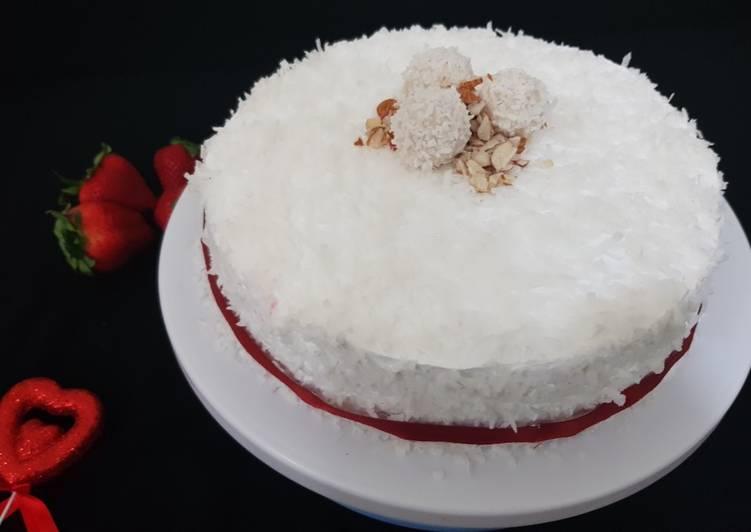 5 Minute Recipe of Diet Perfect Rafaello cake
