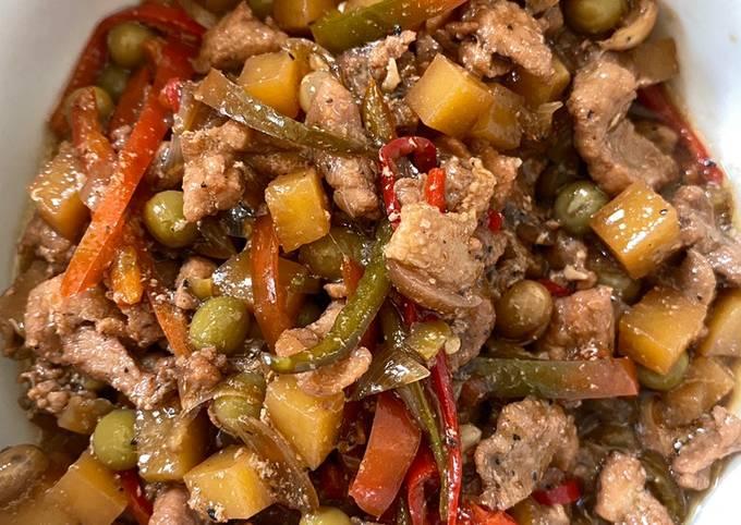 Yummy IGADO (Pork Stew)