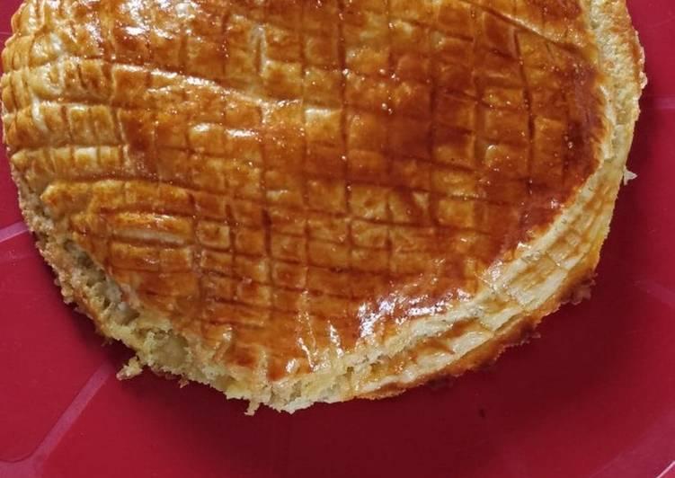 recette Galette des rois à la crème d'amande délicieux