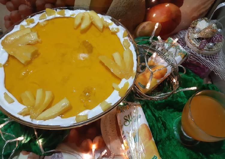 Simple Way to Make Super Quick Homemade Mango trifle