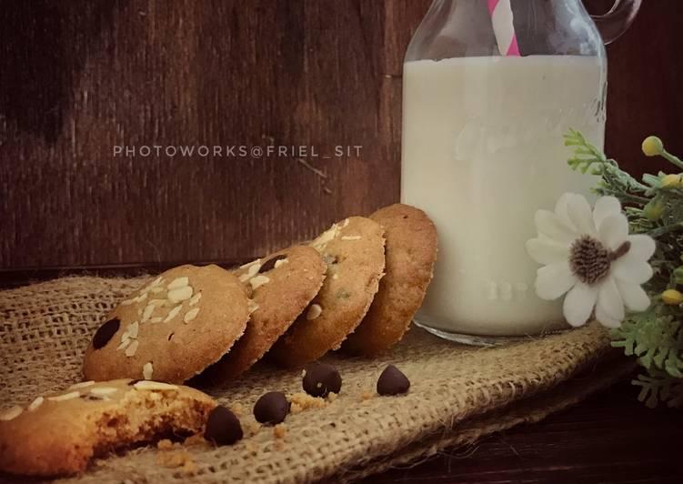 Cinammon-choco chip cookies #Selasabisa