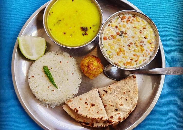 Thali (Moong Dal Special)