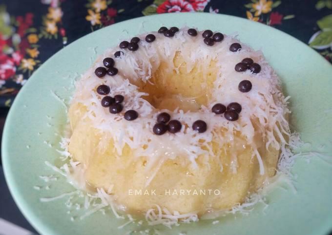 Brownies Keju Kukus Simpel