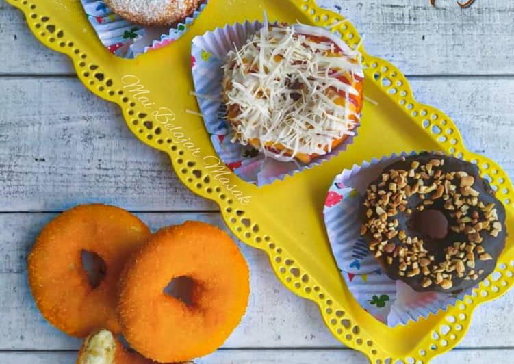 Cara Mudah Masak: Donut Crispy Fluffy  Terbaru