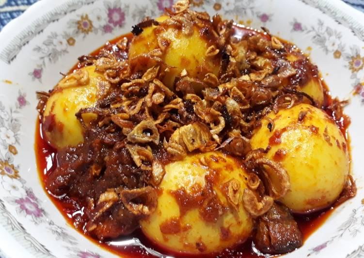 Resep Masak habang telur khas Banjarmasin Lezat