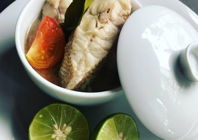 Sup Ikan Merah Ala Thai - resepipouler.com