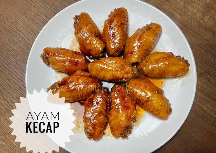 Cara Gampang Menyiapkan Ayam kecap sederhana Anti Gagal