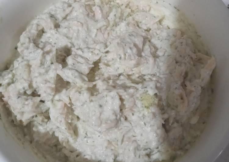 Creamy Chicken Dip