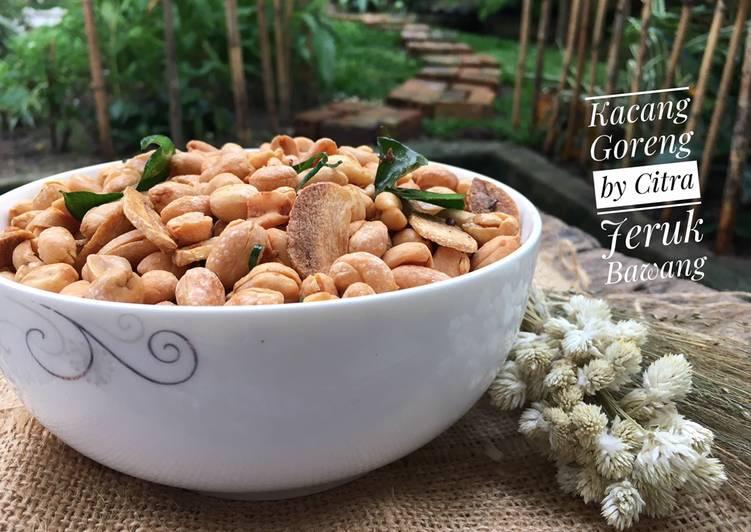 Kacang Goreng Jeruk Bawang